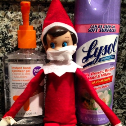 Elf on the Shelf - Germ Free